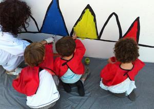 Peinture murale  - Enfants